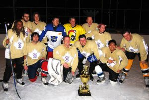 Hockey photo of my 2008 winning team