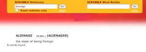 scrabble dictionary online