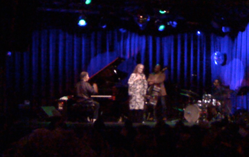 Chick Corea and wife Gayle at the Highline Ballroom in NYC