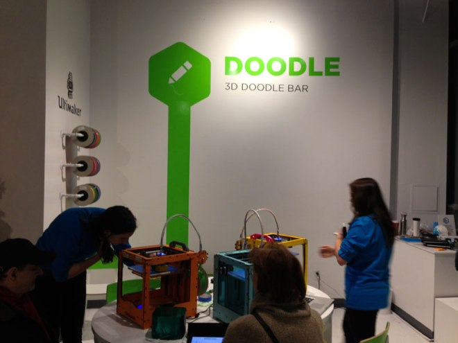 3DEA, a pop-up 3D printing store in New York City
