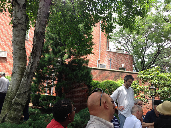 louis armstrong house museum - backyard