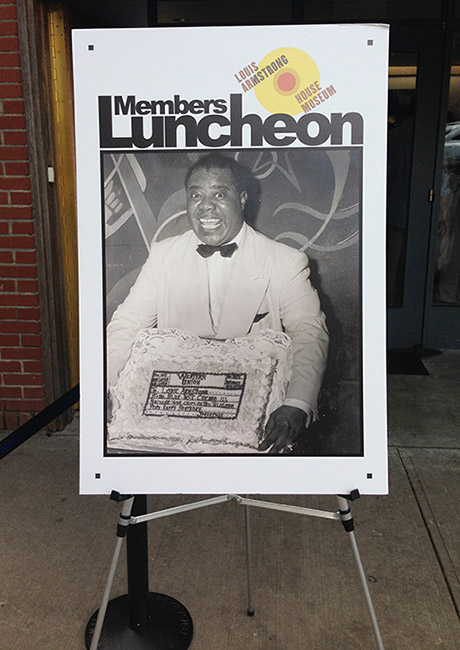 louis armstrong house museum - luncheon welcome