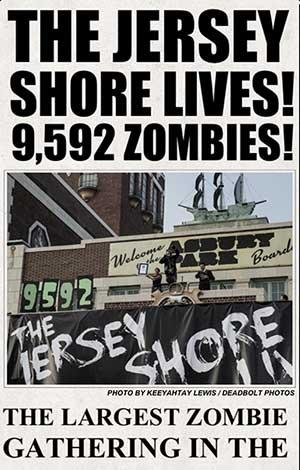 nj zombie walk 2013 record breaking photo