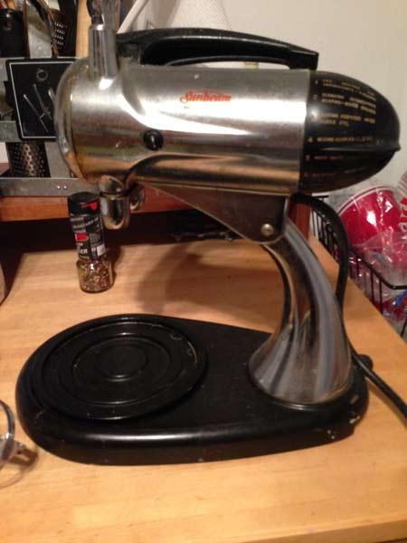 Sunbeam Model 11 Mixmaster - 1956