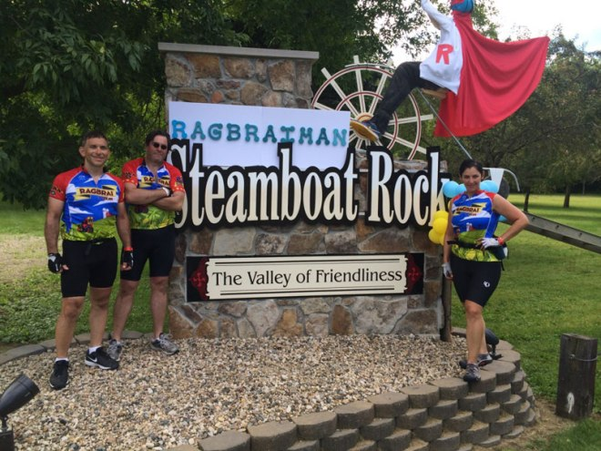 Steamboat Rock was the first town we hit after leaving the campgrounds in Eldora on Day 4 - Wednesday, July 22nd.